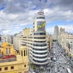 Gran Via, Madird, Spain Cityscape — Stock Photo #59391517