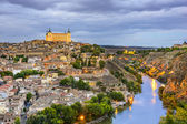 Toledo, Spain on the Tagus River — Stock Photo