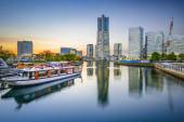 Yokohama, Japan Cityscape — Stock Photo