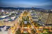 Sapporo, Japan City Skyline — Stockfoto