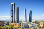 Madrid, Spain Financial District — Zdjęcie stockowe