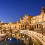 Spanish Square of Seville, Spain — Stock Photo #60475647