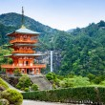 Nachi, Japan Pagoda and Waterfall — Stock Photo #60477507