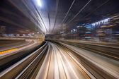 Monorail Motion Blur — Stock Photo