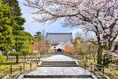 Springtime Temple in Kyoto — Stock Photo