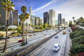 Los Angeles, California City Skyline — Stock Photo