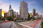 Los Angeles, California City Skyline — Stok fotoğraf