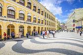 Macau, China at Senado Square — Stock Photo