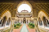 Alcazar of Seville — Stock Photo