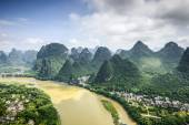 Karst Mountains in China — Stock Photo
