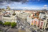 Madrid, Spain Cityscape — Stock Photo