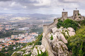 Moorish Castle of Sintra — Stock Photo