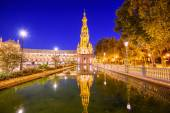 Spanish Square of Seville, Spain — Stock Photo
