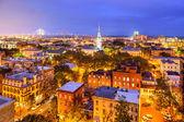 Savannah, Georgia Skyline — Stock Photo