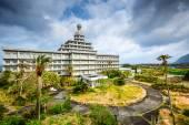 Verlaten hotel — Stockfoto