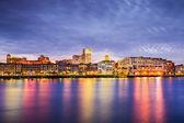 Savannah, Georgia Riverfront — Stock Photo