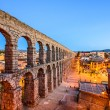 Segovia, Spain Ancient Roman Aqueduct — Stock Photo #63301797