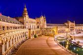 Seville, Spain at Spanish Square — Stock Photo