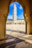 Hassan ii Moschee — Stockfoto