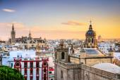 Seville, Spain Skyline — Stock Photo