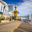 Atlantic City on the Boardwalk — Stock Photo #63901437