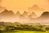 Karst Mountains of China — Stock Photo