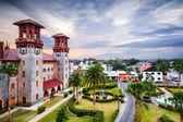 St. Augustine, Florida Courtyard — Stock Photo