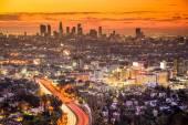 Los Angeles Skyline — Stock Photo