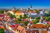 Estonia, Tallinn Skyline — Stock Photo