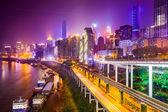 Chongqing, China Riverside Cityscape — Stock Photo