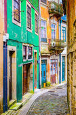 Alleyway in Porto, Portugal — Stock Photo