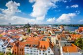 Rostock Germany Skyline — Stock Photo