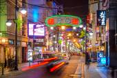 Hiroshima Nightlife District — Stock Photo