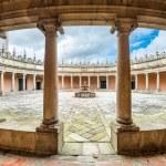 Monastery Courtyard — Stock Photo #67642041