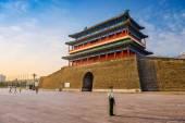 Gatehouse in Tiananmen Square — Stock Photo