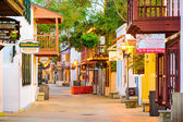 St. George Street in St. Augustine Florida — Stock Photo
