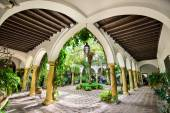 Royal Courtyard in Cordoba Spain — Stock Photo