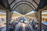 Train Station in Seville Spain — Stok fotoğraf