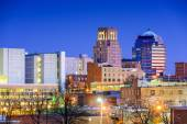 Durham, North Carolina Skyline — Stock Photo