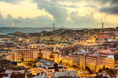 Lisbon Cityscape — Stock Photo