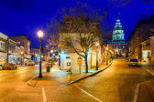 Annapolis Downtown — Stock Photo