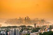 Chongqing Skyline — Stock Photo