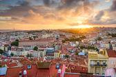 Lisbon Sunset — Stock Photo