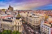 Paysage urbain de Madrid — Photo