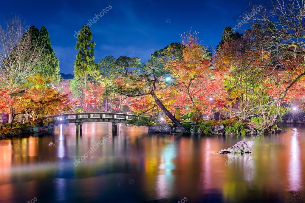 Jardin de kyoto automne nuit photographie sepavone for Jardin kyoto