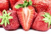 イチゴの背景 — ストック写真