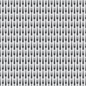 Seamless Kitchen Cutlery Fork Pattern — Stock Vector