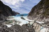 Scenic landscape at Franz Josef Glacier — Stock Photo