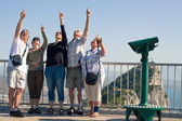 Tourists on the Rock of Gibraltar — Stock Photo