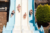 People at water park — Fotografia Stock